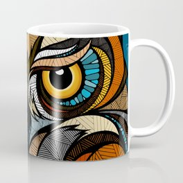 Oldschool Owl Coffee Mug