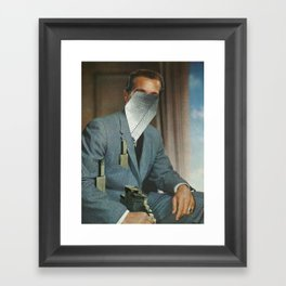 Portrait 1 Framed Art Print