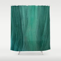 hunter Shower Curtains featuring Hunter by Susan Evans Grove Photography