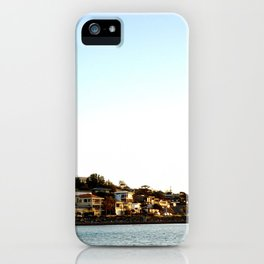 Marino Rocks Sunset iPhone Case
