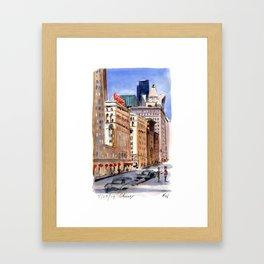 Congress Hotel - Chicago Framed Art Print