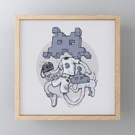 VideoF Framed Mini Art Print