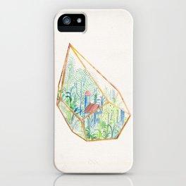 Terrarium Garden I iPhone Case