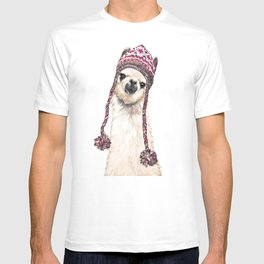 The Llama with Hat T-shirt
