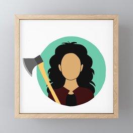 Rosa Diaz Framed Mini Art Print