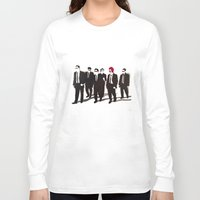 reservoir dogs Long Sleeve T-shirts featuring Reservoir Ronald by Stewart S
