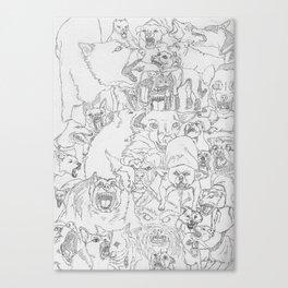 Mad Dawgz Canvas Print