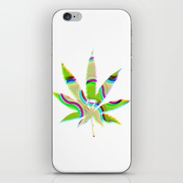 Cannabis Rainbow Design (99) iPhone Skin