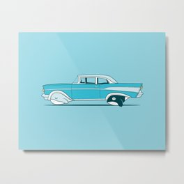 Reinventing the whale Metal Print