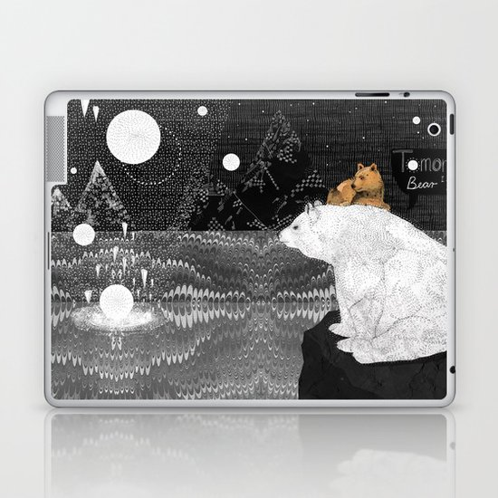 Tomorrow Bear Laptop & iPad Skin