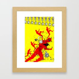Reject Object Framed Art Print