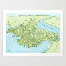 Boston Today Art Print