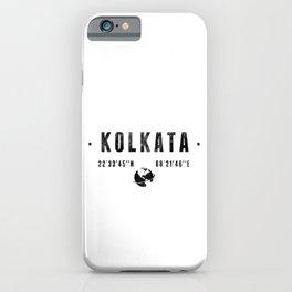Kolkata iPhone Case