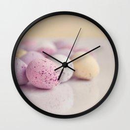 Mini Easter Eggs. Wall Clock