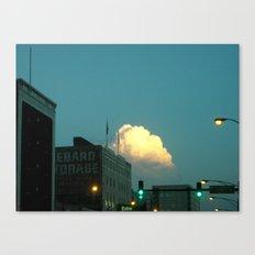 (Extra) Cloud Storage ~ chicago architecture Canvas Print
