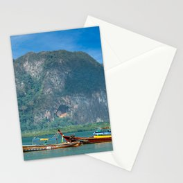 Pak Meng Harbour Thailand Stationery Cards
