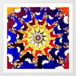 central eye Art Print