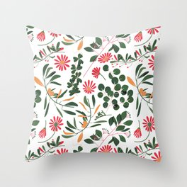 Cultivate Beautiful Thinking Throw Pillow