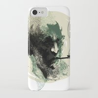 sailor iPhone & iPod Cases featuring Sailor by Rzuud