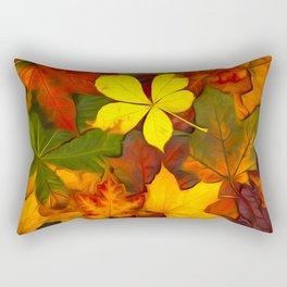 Colorful Autumn Rectangular Pillow