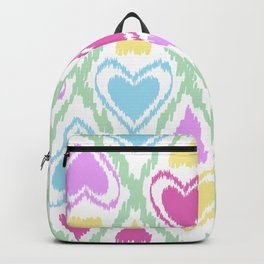 Abstract drawing Heart. Backpack