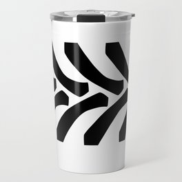 Tractor Tyre Tread Marks Travel Mug