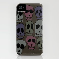 Skulls-2 Slim Case iPhone (4, 4s)