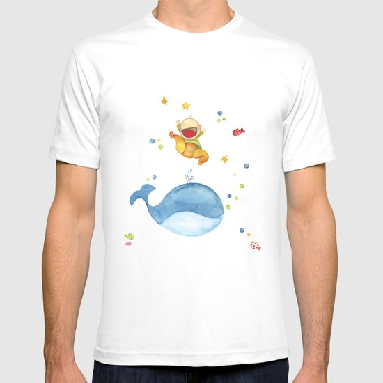 Baby whale T-shirt