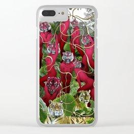 Kairosclerosis Clear iPhone Case