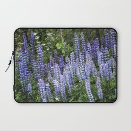 Lupins in Blue and Purple Laptop Sleeve