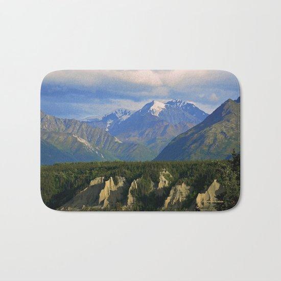Northern Chugach Mountains Bath Mat