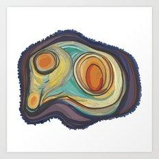 Tree Stump Series 2 - Illustration Art Print