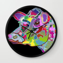 Daisy the Cow  Wall Clock
