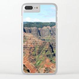 Waimea Canyon Defined Clear iPhone Case