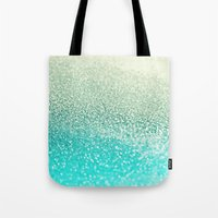 mint Tote Bags featuring MINT by Monika Strigel