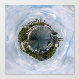 Small Planet Z Canvas Print