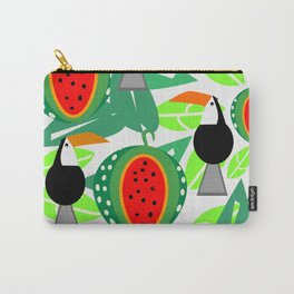 Toucans and watermelons Carry-All Pouch