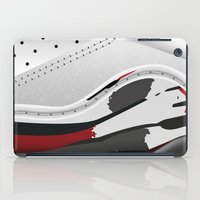sneaker iPad Cases featuring ABSTRACT SNEAKER JUMPMAN 8 by LTR ARTWORK