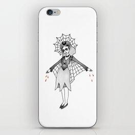 spider witch iPhone Skin