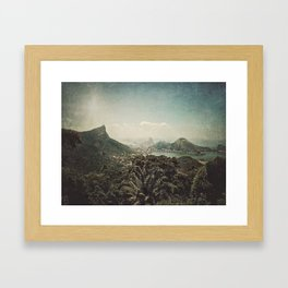 a piece of heaven Framed Art Print