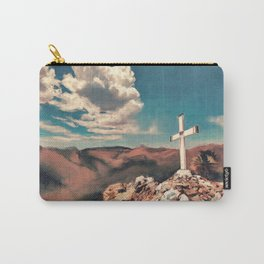 The Hilltop Cross Carry-All Pouch