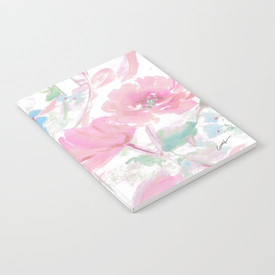 rose ribbons Notebook