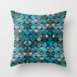 SquareTracts Throw Pillow