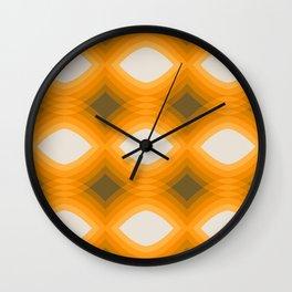 Maize Stack Pattern Wall Clock