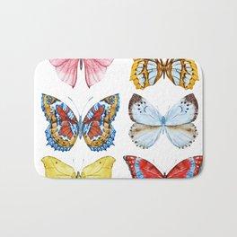 Butterflies 01 Bath Mat