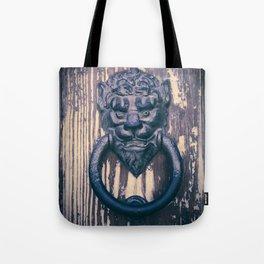 Lionhead Tote Bag