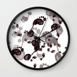 short and long trips Wall Clock