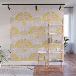 Light colored pattern Wall Mural