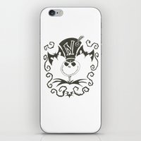 jack daniels iPhone & iPod Skins featuring Jack by Andready