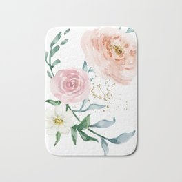 Rose Arrangement No. 1 Bath Mat